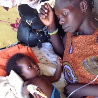 Större delen av Sydsudan är kristet, med en stor katolsk befolkning som lider under fruktansvärda förhållandena